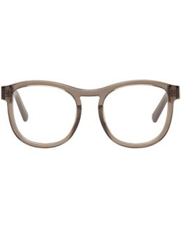 Grey Round Glasses
