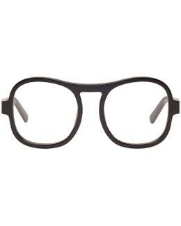 Black Square Glasses