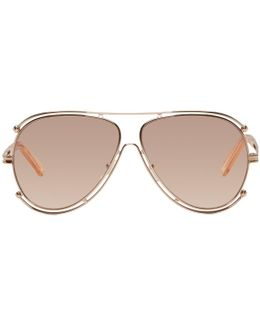 Rose Gold Isidora Sunglasses