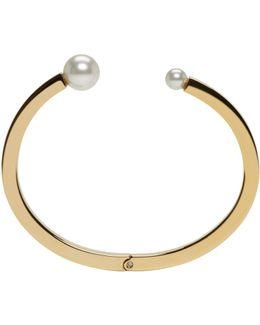 Gold Darcey Pearl Bracelet