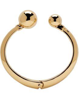 Gold Oma Pearl Bracelet