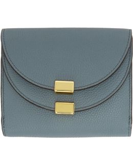 Blue Square Georgia Wallet