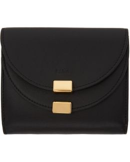 Black Square Georgia Wallet