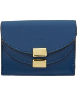 Blue Mini Georgia Wallet