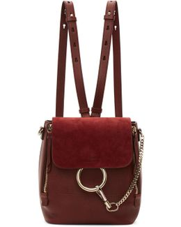 Red Small Faye Backpack