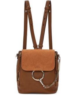 Tan Small Faye Backpack