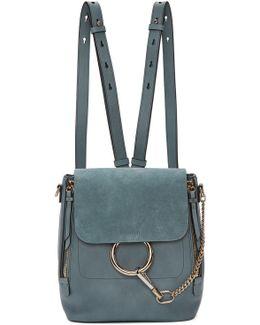 Blue Small Faye Backpack