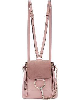 Pink Mini Faye Backpack