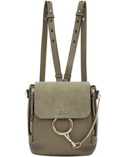 Grey Small Faye Backpack
