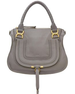 Grey Medium Marcie Bag