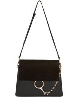 Black Medium Faye Bag