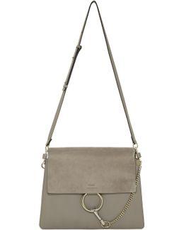 Grey Medium Faye Bag