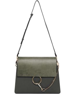 Blue Medium Faye Bag