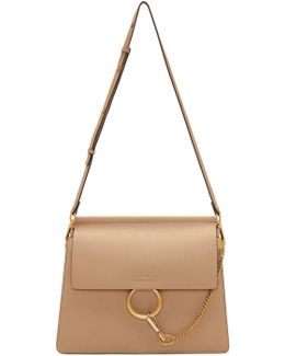 Beige Medium Faye Bag