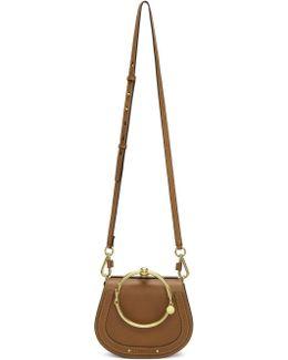 Tan Small Nile Bracelet Bag