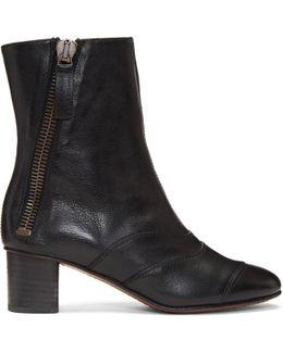 Black Lexie Boots