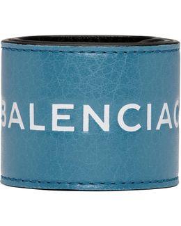 Blue Cycle Logo Bracelet
