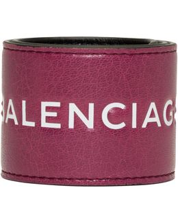 Pink Cycle Logo Bracelet