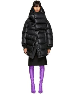Black Outerspace Puffer Jacket