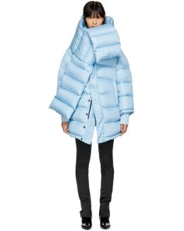 Blue Outerspace Puffer Jacket