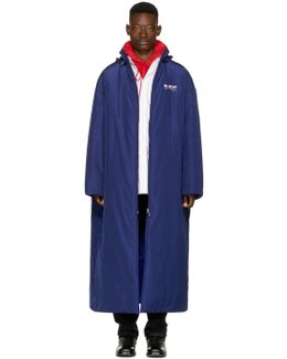 Blue Campaign Logo Raincoat