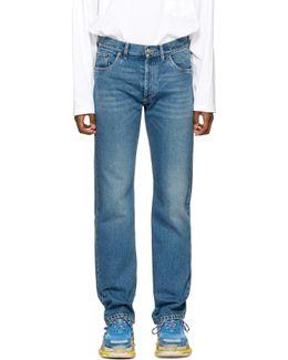 Indigo Five Pockets Jeans