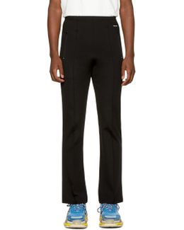 Black Slim Track Pants