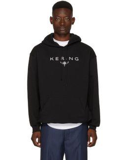Black 'kering' Hoodie