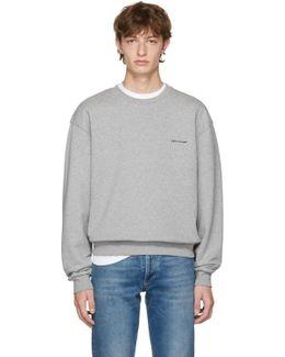 Grey Small Logo Sweatshirt