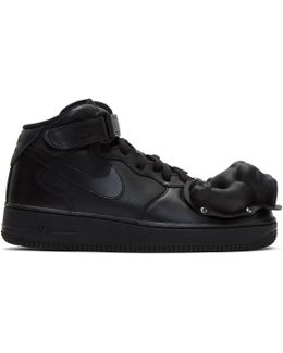 Black Nike Edition Air Force 1 Mid '07 Sneakers