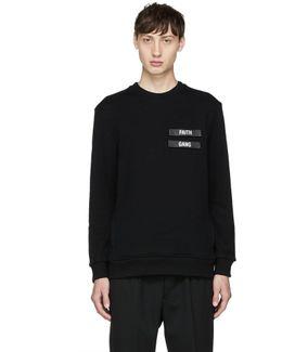 Black 'faith Gang' Sweatshirt