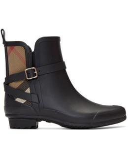 Black Riddelstone Rain Boots