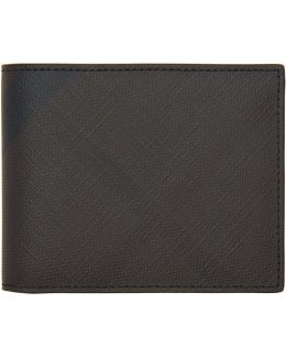 Brown London Check Hipfold Wallet