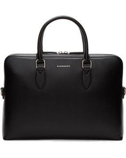 Black 'the Barrow' Briefcase
