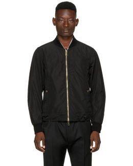 Black Eddison Bomber Jacket