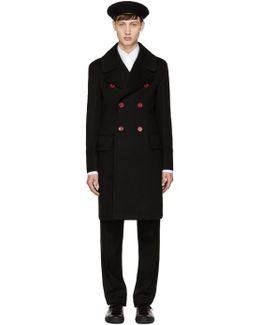 Black Wool Handsworth Coat