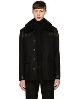 Black Wool Muswell Jacket
