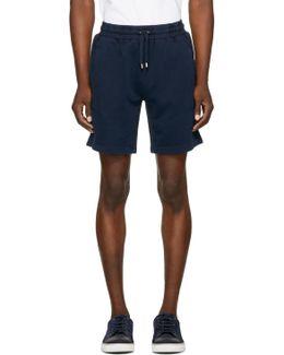 Navy Hestford Shorts