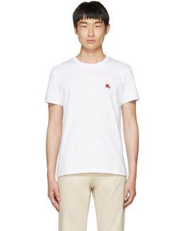 White Tunworth T-shirt