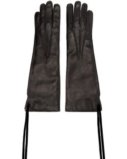 Black Leather Joris Gloves