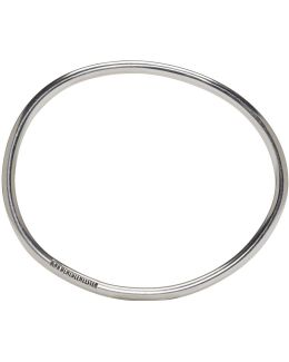 Silver Simple Bangle