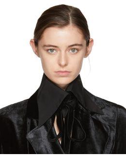 Black Byron Shirt Collar