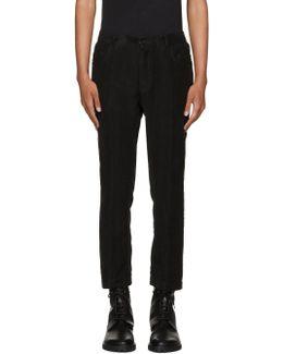 Black Niles Trousers