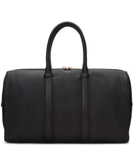 Black Unstructured Holdall Bag