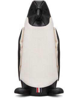 Black & White Penguin Tote