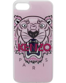 Pink 3d Tiger Iphone 7 Case