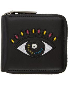 Black Square Eye Wallet