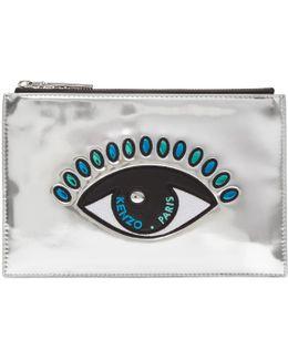 Silver Eye A5 Pouch