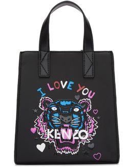 Black Limited Edition Mini 'i Love You' Tote