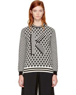 Logo Wool & Cotton Sweater